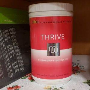 Thrive level strawberry shake